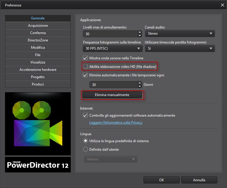 how to open powerdirector files
