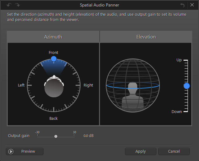 Customer Support - What is the Spatial Audio Panner feature in