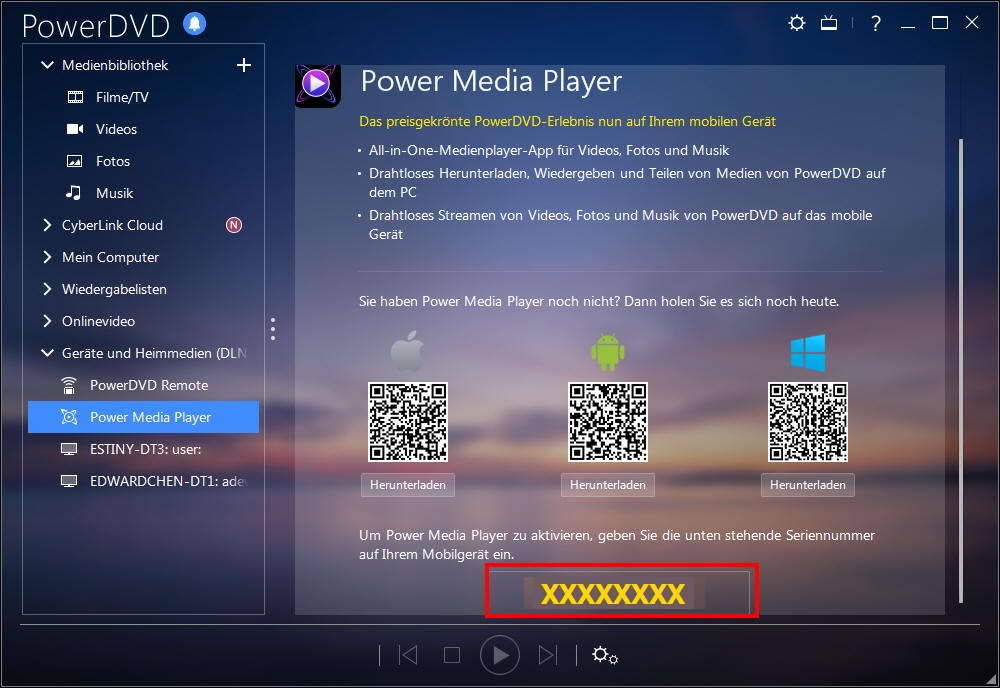 cyberlink power media player software update